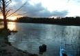 nasze zajście do jeziora