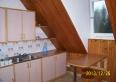 kuchnia z widokiem na las