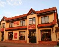 Pokoje, restauracja - Mikołajki