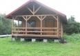 Domek drewniany do 8 miejsc.