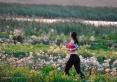 jogging w Miłej Dolinie